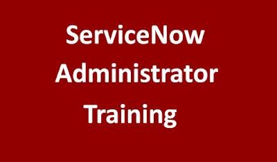 online servicenow admin training, best servicenow administration training, ServiceNow admin course