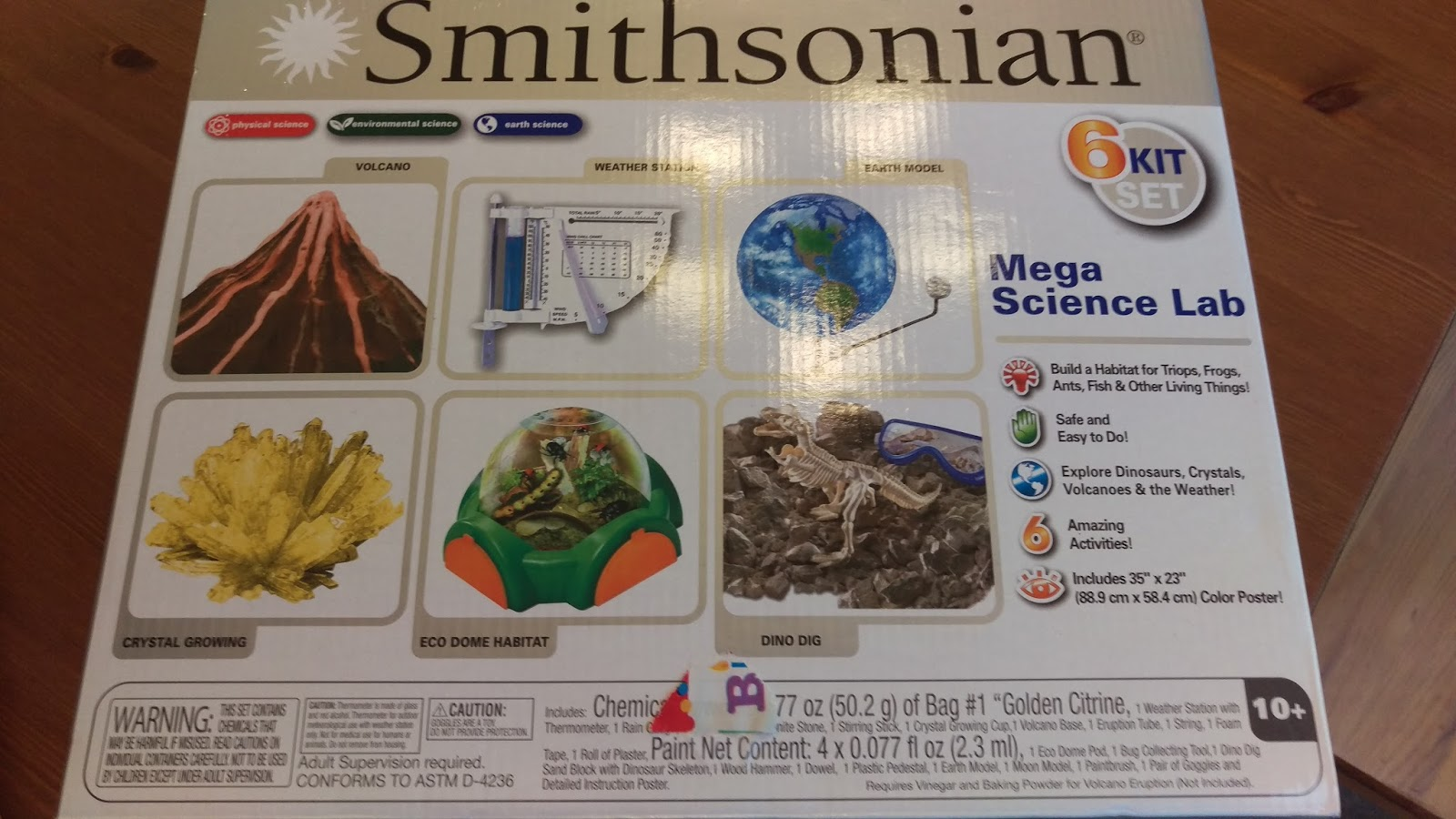 The Cool Science Dad: Dino Dig Kit