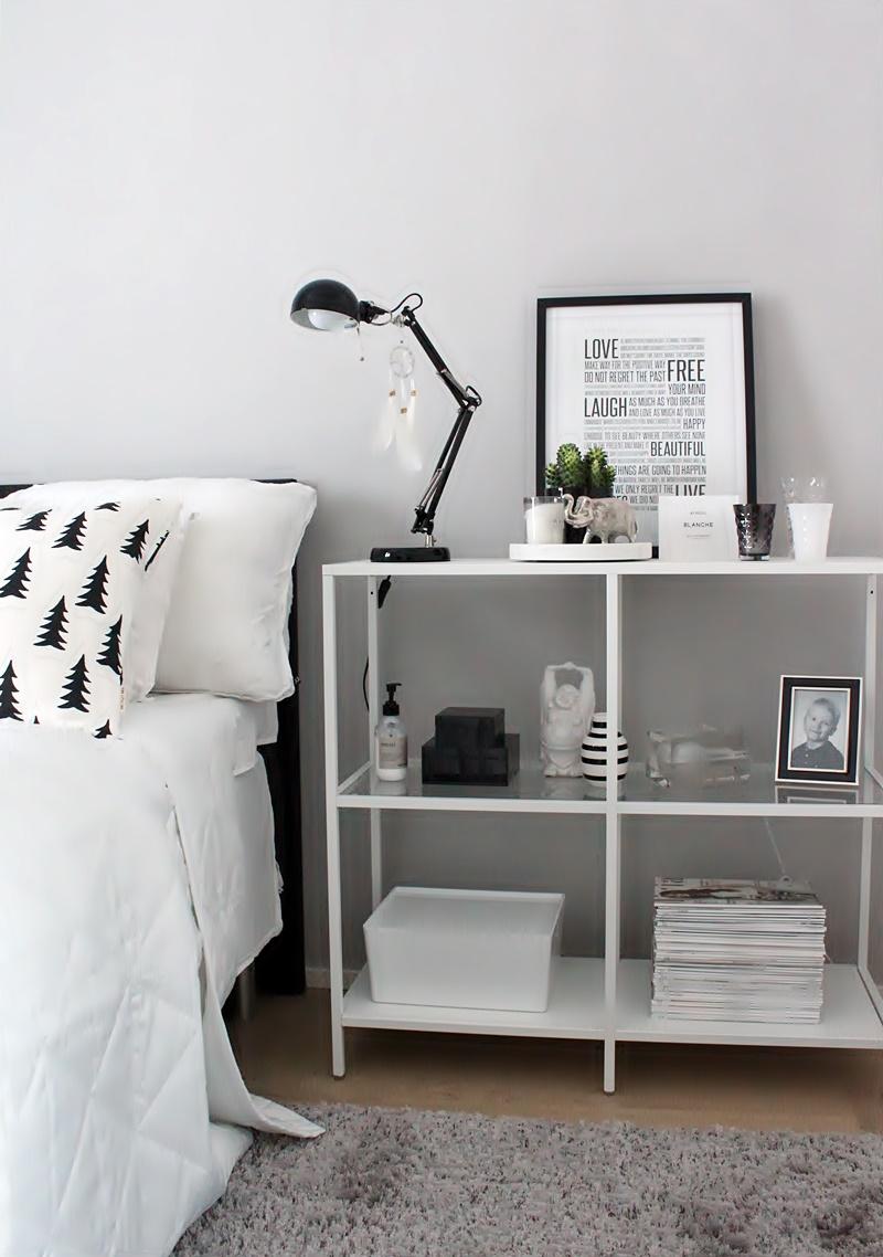 la dolce vita blogi makuuhuoneen valkoinen sisustus
