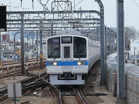 小田急線 各駅停車 向ヶ丘遊園行き4 2000形