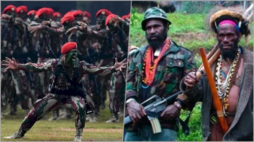 OPM ke Pasukan Setan TNI: Tentara Surgawi Siap Layani