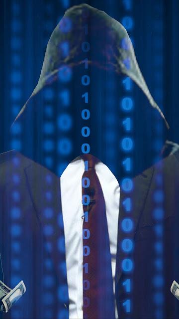 Hoodie Guy Binary Code US Dollar Wallpaper