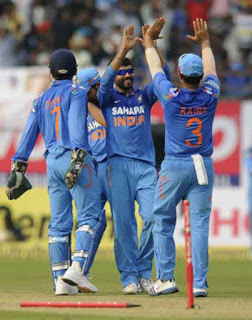 India vs West Indies 1st ODI 2013 Highlights