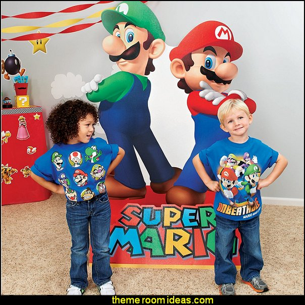 Super Mario Mario & Luigi Life Size Cardboard Standup