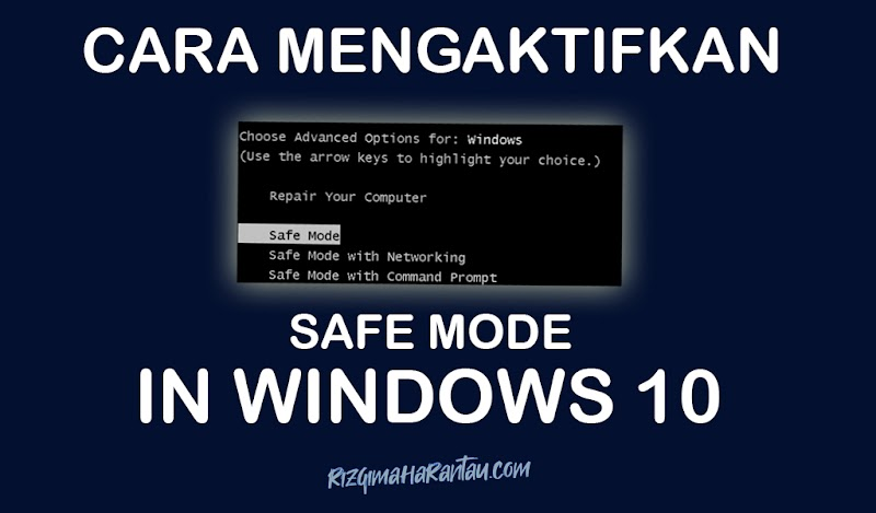 Cara Mengaktifkan Opsi Safe Mode pada Windows 10