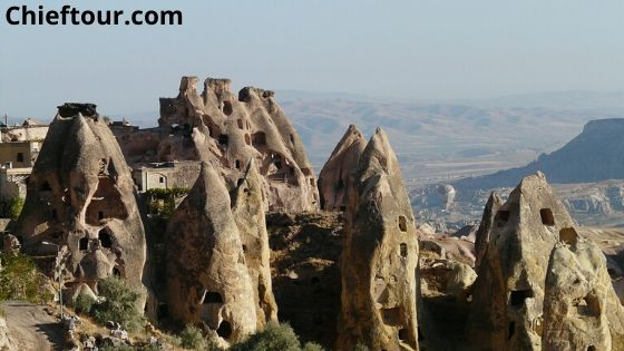 Uchisar, Turkish beauty: