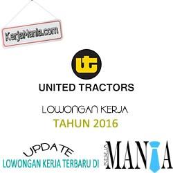 Lowongan Kerja PT United Tractors Tbk Tahun 2016