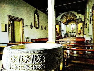 Pia Batismal da Igreja Bom Jesus do Triunfo (RS)