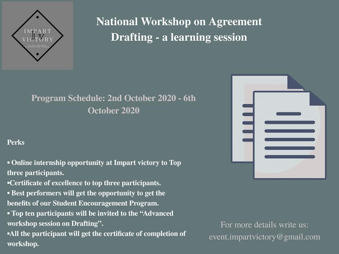 NATIONAL WORKSHOP ON CONTRACT DRAFTING