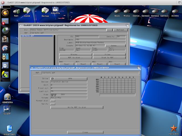 GoADF on AmigaOS 3 1 4 and AmiKitReal 9 | AmigaBlogs