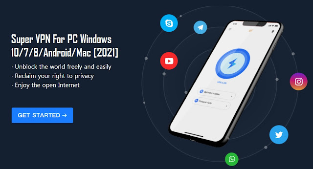 Super VPN For PC Windows