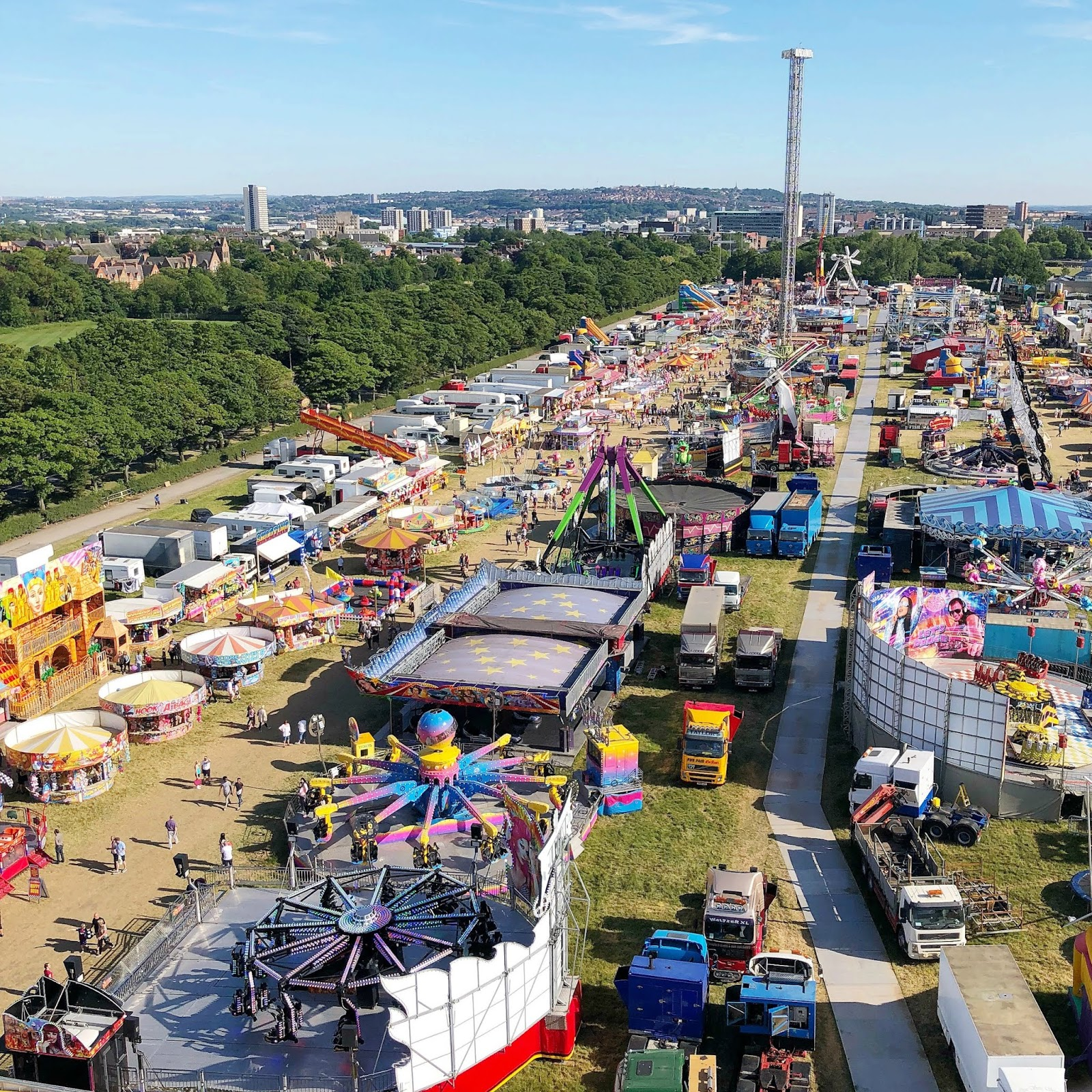 My June Days - The Hoppings