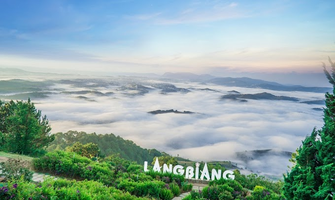 Du lịch Langbiang - 'tiểu Paris' của Việt Nam ở Đà Lạt