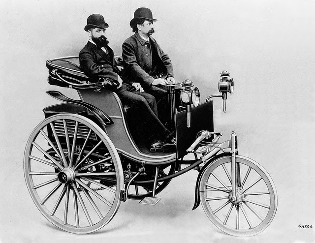 First Automobile Ever Made >> Roscoe Reports: 1886 - 1st successful gasoline-driven car patented, Karl Benz