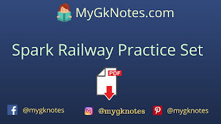 Spark Railway Practice Set PDF in Hindi