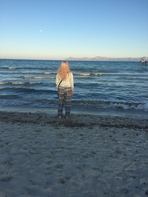 Mallorca travel diary Alcudia beach