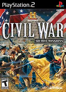 The History Channel Civil War Secret Missions PS2 ISO MG