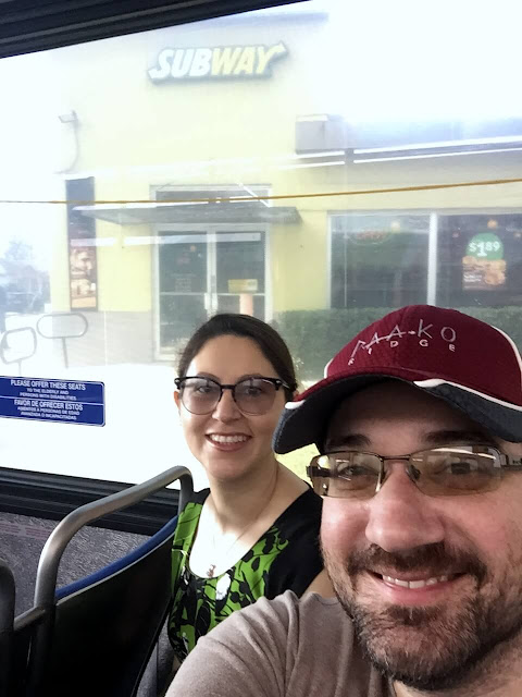 Riding the bus in Texas