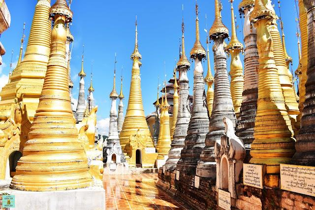 Shwe Indein Pagoda, Myanmar