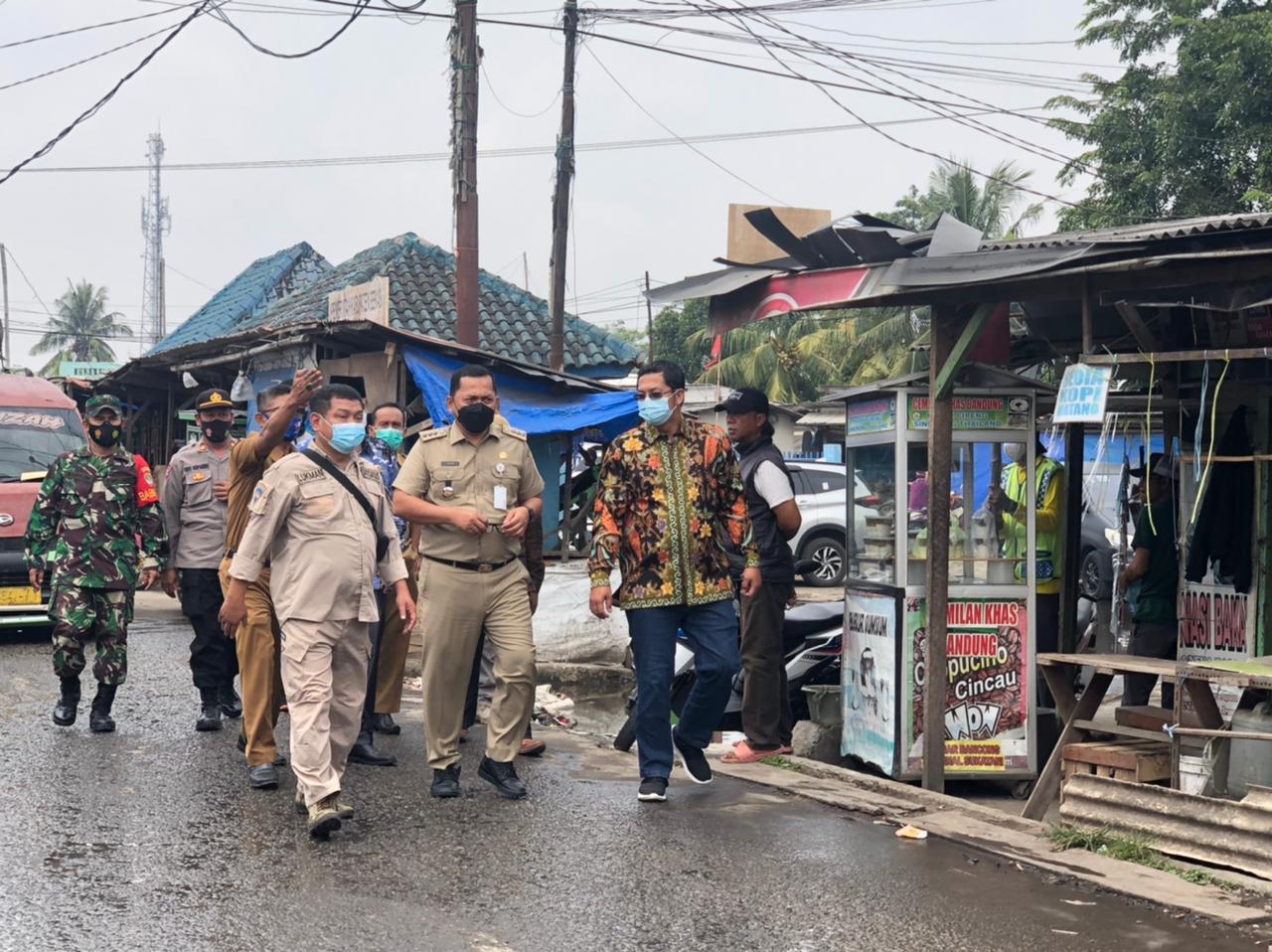 Tinjau Pasar Sukatani, Komisi II DPRD  Kab.Bekasi Sorot Masalah Revitalisasi