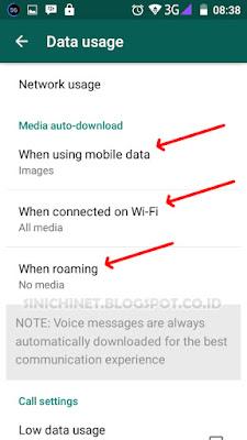 menghilangkan fitur whatsapp, setting fitur, auto, download, save, image, video, sound, document, how to configure auto-download, celluler connection, aplikasi, smartphone, tutorial, trik, gadget, smartphone, trick