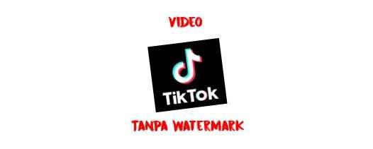 Tiktok Tanpa Watermark