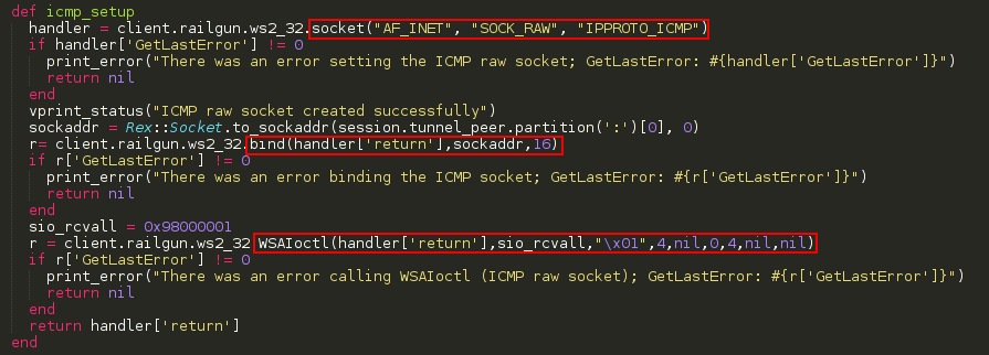 Shell is coming    : Metasploit: Getting outbound filtering rules by