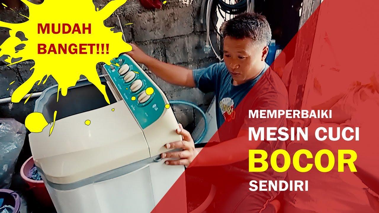 Mengatasi Mesin Cuci LG Bocor (Air Tidak Penuh-Penuh)