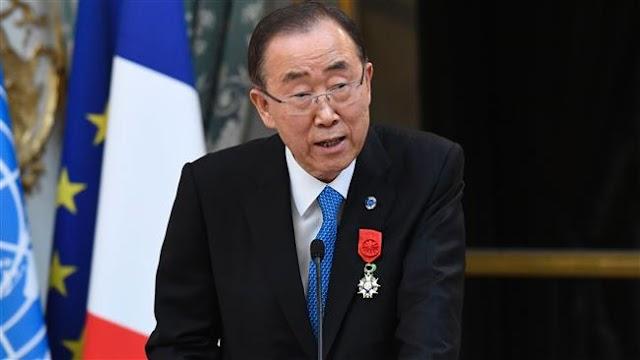 UN chief Ban Ki-moon urges immediate halt to Central Africa violence