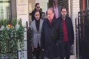 UNawaz Sharif uyahlolwa eLondon eLondon