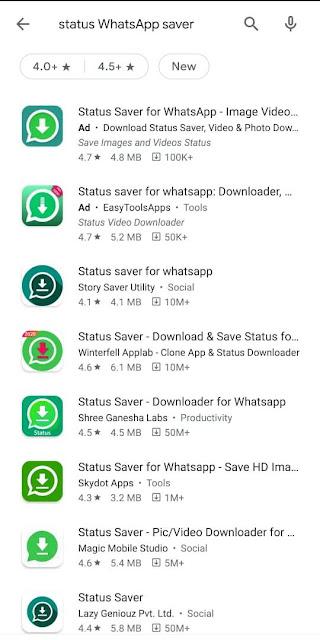 status whatsapp saver