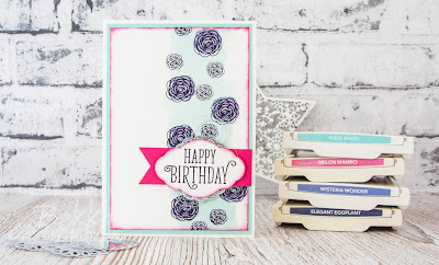 Beautiful Birthday Card Featuring the  Happy Birthday Gorgeous Stamp Set from Stampin' Up! UK which you can purchase here