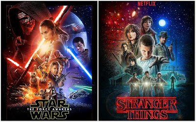 Pósters de películas Stranger Things - Star Wars