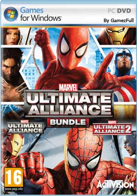 Marvel Ultimate Alliance Bundle PC [Full] Español [MEGA]