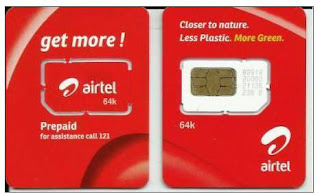 Airtel :-Trick to find any airtel sim number at zero balance