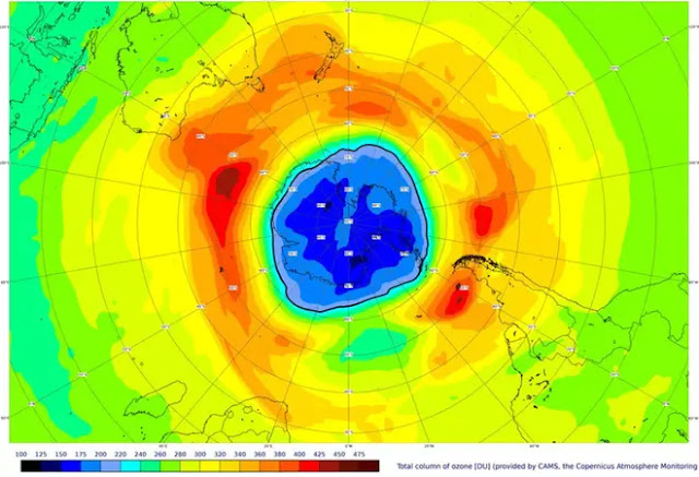 The vortex is quite stable and the temperature in the stratosphere is even lower than last year