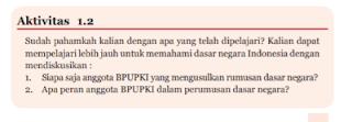 Soal dan Jawaban Aktivitas 1.2 PKN kelas 7 halaman 11