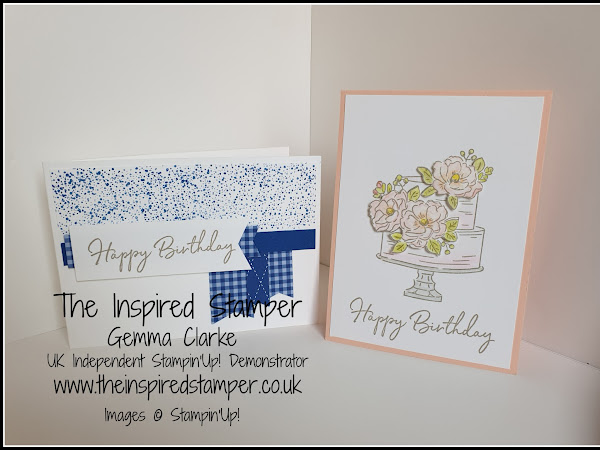 StampinUp! Happy Birthday To You Sale-A-Bration cards