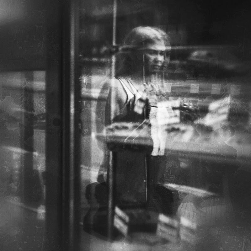 Photographic letters by Agnieszka Grzeslo.