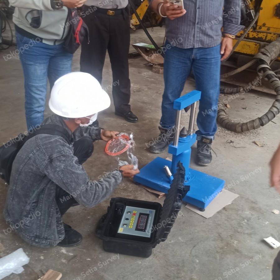 Digital Point-load Test Apparatus