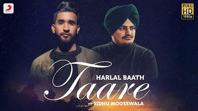 Sidhu Moosewala - Taare Lyrics   Harlal Batth