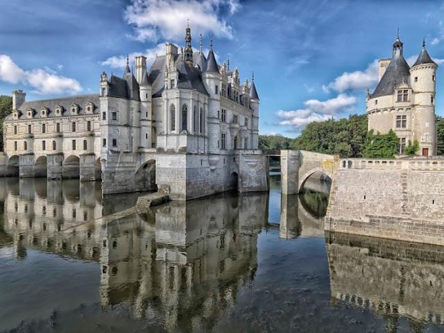 Château de Chenonceau, Loire Valley, Prancis