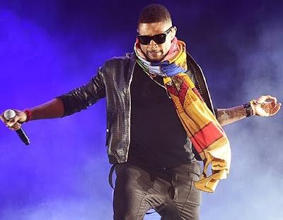 Foto de Usher en concierto