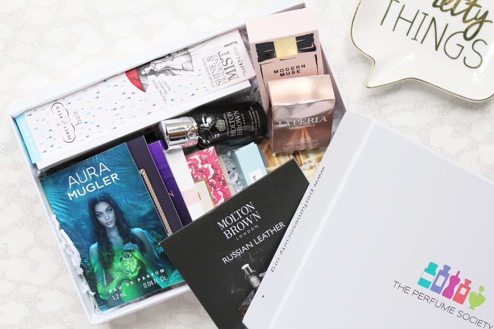 Fashion, Fabric & Fragrance Box