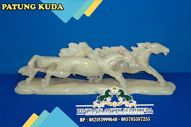 Patung Kuda Batu Onyx | Gambar Patung Dekoratif