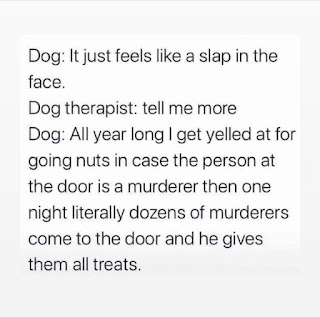 Trick a Treat and Dogs Meme by @bldhtx on Instagram