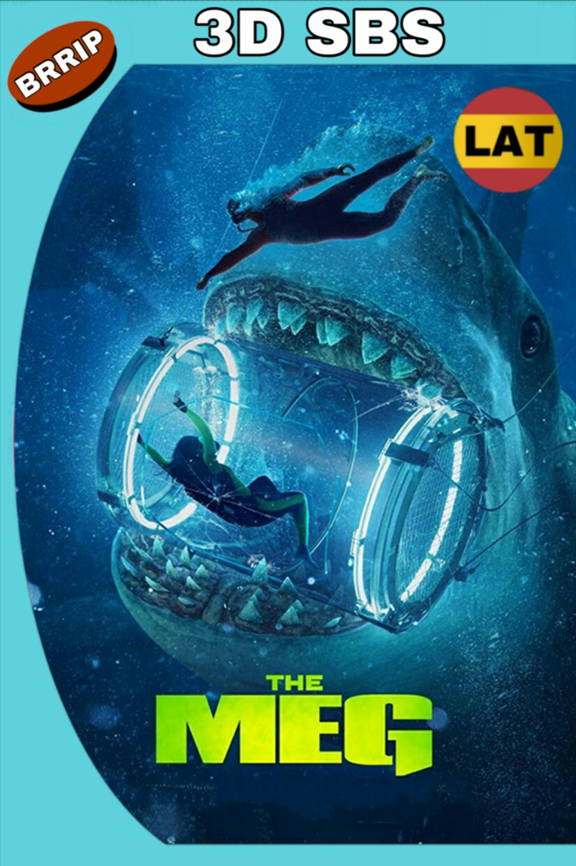 MEGALODÓN (2018) BRRIP 1080P 3D SBS LATINO-INGLES MKV