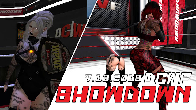 Second Life Wrestling (7.13.2019) DCWF SHOWDOWN