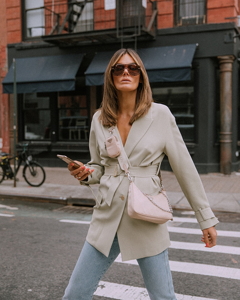 On Trend: Belted Blazers