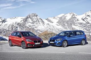 Noile BMW Seria 2 Active Tourer si BMW Seria 2 Gran Tourer